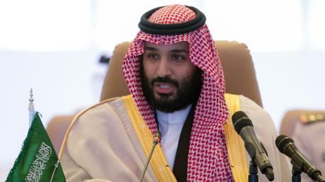 Le prince héritien saoudien Mohammed ben Salmane préside à Riyad une réunion de la Coalition islamique de lutte contre le terrorisme, le 26 novembre 2017 (image d'illustration).