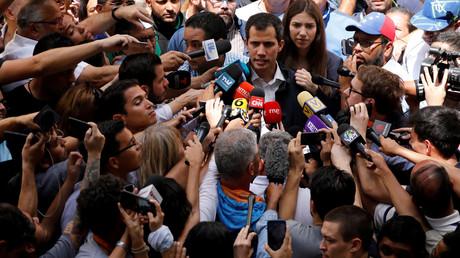 Le chef de l'opposition vénézuélienne et