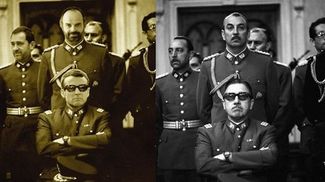Un photomontage de Macron grimé en Pinochet a-t-il été censuré ?