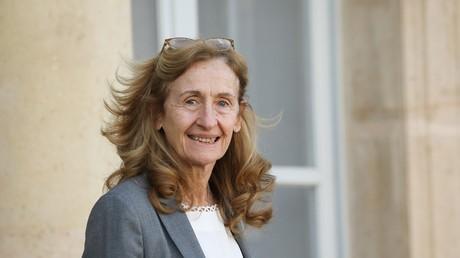 Le ministre de la justice, Nicole Belloubet, devant l'Elysée le 30 janvier 2019 (image d'illustration).