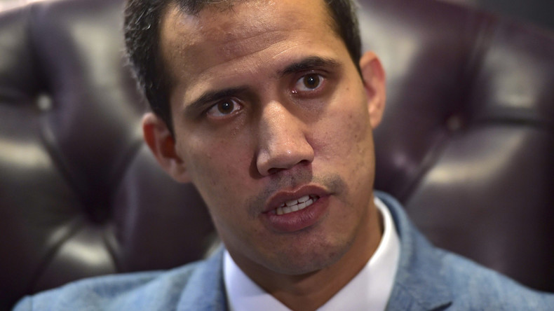 Venezuela : Juan Guaido n'exclut pas une intervention militaire des Etats-Unis