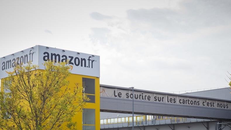 Des Gilets jaunes et la CGT investissent un site d'Amazon dans le Val-de-Marne (VIDEOS)