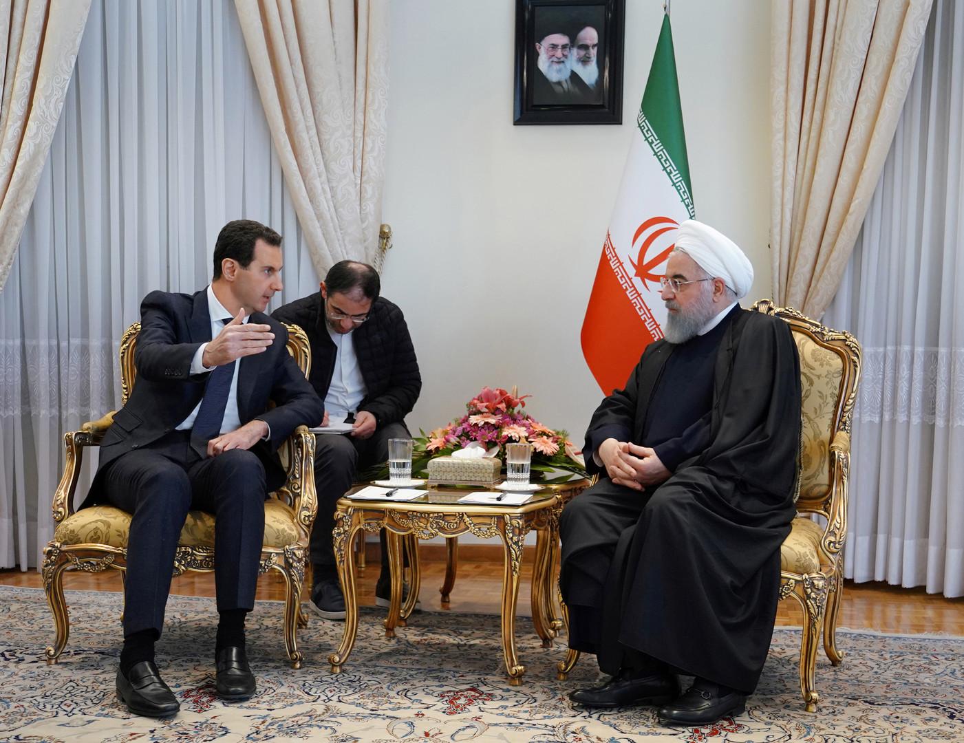 B.el Assad à Téhéran : Un axe solide…