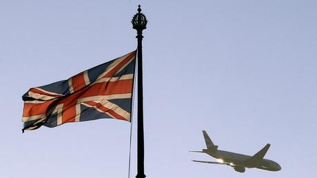 Image d'illustration du drapeau du Royaume-Uni.