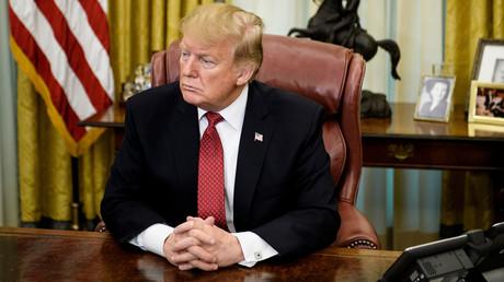 Le président des Etats-Unis Donald Trump.