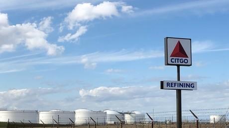 Vue de le raffinerie Corpus Christi au Texas, une des trois que possède la société Citgo, filiale de l'entreprises pétrolière publique vénézuélienne PDVSA dont les Etats-Unis veulent modifier le conseil d'administration en leur faveur.
