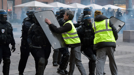 Le 12 janvier, plusieurs affrontements ont éclaté entre manifestants et forces de l'ordre à Toulouse (image d'illustration).