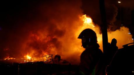 Paris : hausse de 60 % des agressions contre les pompiers en 2018