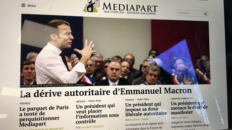 Capture d'écran du site Mediapart.fr, DR.