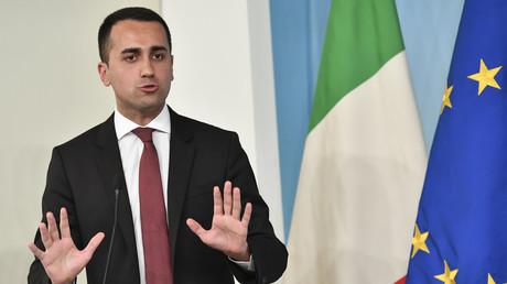 Le vice-Premier ministre italien et leader du Mouvement 5 étoiles Luigi Di Maio.