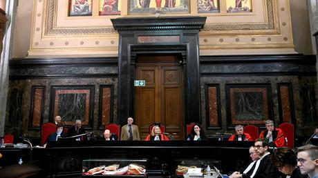 Le procès de Mehdi Nemouche et de Nacer Bendrer au Palais de Justice de Bruxelles le 15 janvier 2019, les deux accusés de la tuerie du musée juif de Bruxelles en mai 2014.