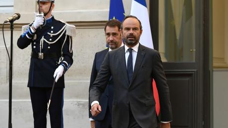 Le Premier ministre Edouard Philippe au ministère de l'Intérieur le 16 octobre 2018.