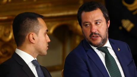 France-Italie : «disponibles» pour dialoguer, Salvini et Di Maio campent sur leurs positions