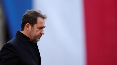 Le ministre de l'Intérieur à la préfecture de police de Paris le 20 décembre 2018 (image d'illustration).
