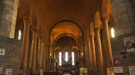 L'église Sainte Jeanne D'Arc, près d'Orléans. (Image d'illustration)