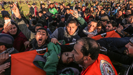 Deux adolescents palestiniens tombent sous les balles de l'armée israélienne