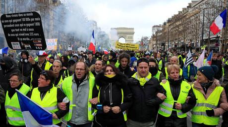 Des Gilets jaunes encore nombreux à Paris.
