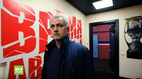 La légende José Mourinho est de retour sur RT pour la Ligue des Champions 2018-2019