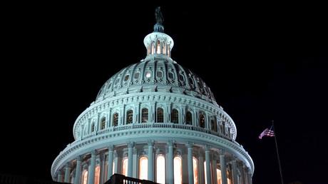 Le Capitole des Etats-Unis à Washington, où siège le Congrès.