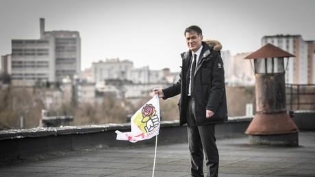 Le premier secrétaire du PS Olivier Faure, dont le parti est à l'initiative d'un appel à l'union contre l'antisémitisme.