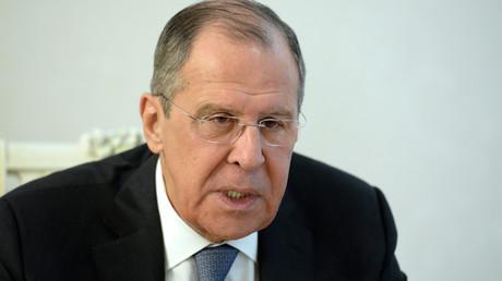 Sergueï Lavrov le 4 janvier 2019 au Kirghizistan (image d'illustration).