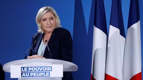 Marine Le Pen à Saint-Paul-du-Bois, le 17 février 2019 (image d'illustration).