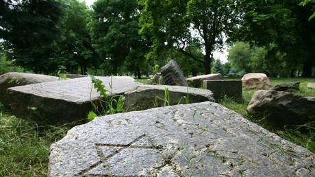 Cimetière juif en Biélorussie (image d'illustration).