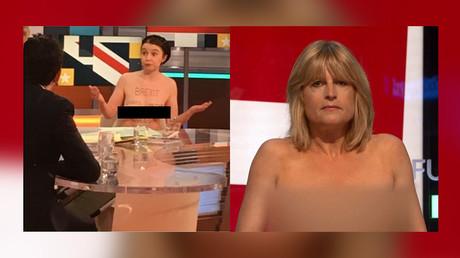 Royaume-Uni : des femmes se déshabillent pour montrer que le Brexit les laissera à poil