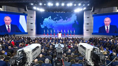 Discours annuel du président de la Fédération de Russie à l'Assemblée fédérale russe, à Moscou le 20 février 2019.