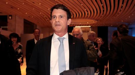 Manuel Valls au 34e dîner du Crif à Paris le 20 février (image d'illustration).