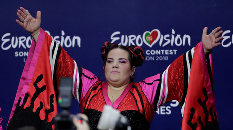 L'israélienne Netta Barzilai a remporté le concours Eurovision en 2018 à Lisbonne (image d'illustration).