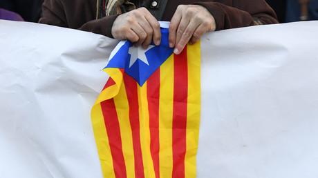 Drapeau de la Catalogne.