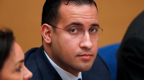 Alexandre Benalla, lors de son audition au Sénat le 21 janvier 2019 (image d'illustration).