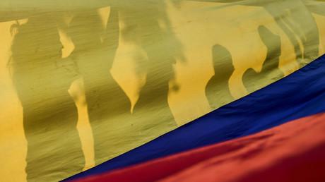 Le drapeau du Venezuela.