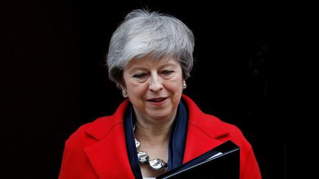 Le Premier ministre britannique Theresa May, à Londres, le 26 février 2019.
