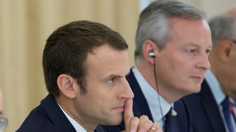 Emmanuel Macron et Bruno Le Maire (image d'illustration).