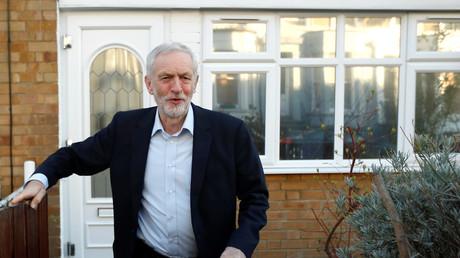 Jeremy Corbyn, leader du parti travailliste, le 26 février 2019 à Londres.