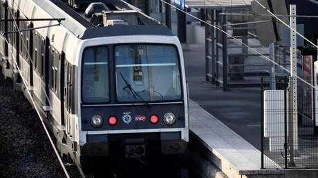 Une rame de RER en gare d' Aulnay-sous-Bois, le 7 décembre 2016 (image d'illustration).