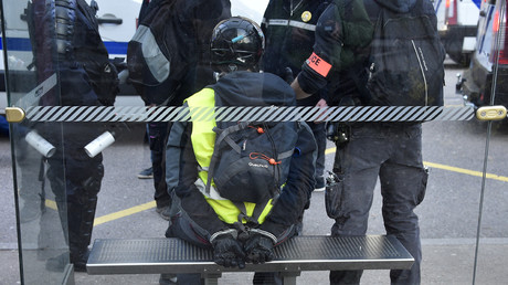Manifestation des Gilets jaunes à Epinal, dans l'est de la France le 23 février 2019. (image d'illustration)