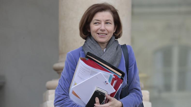 A Washighton, Florence Parly assure que la France frappera la Syrie de nouveau «si nécessaire»