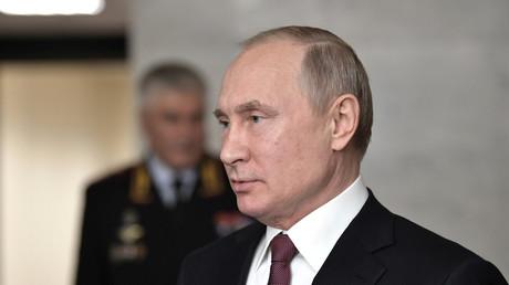Le président russe Vladimir Poutine à Moscou le 28 février 2019.