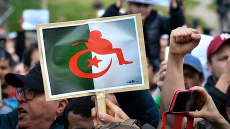Manifestation d'Algériens à Marseille contre le président Bouteflika, le 3 mars 2019. (image d'illustration)