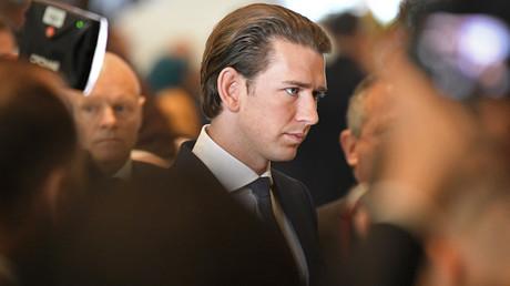 Sebastien Kurz, le Chancelier autrichien.