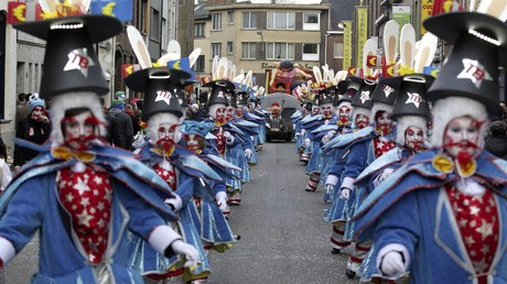 Un cortège du Carnaval d'Alost, en 2014 (image d'illustration).