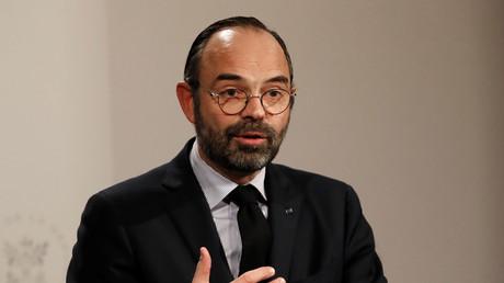 Edouard Philippe en conférence de presse le 9 janvier à Paris (image d'illustration).