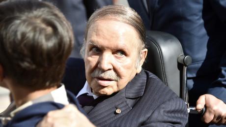 Le président algérien Abdelaziz Bouteflika, le 23 novembre 2017 à Alger.