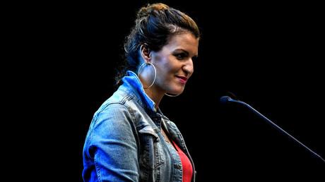Marlène Schiappa, discours à Lyon pour un meeting politique LREM, septembre 2018 (image d'illustration).
