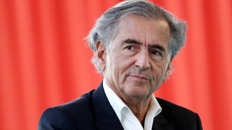 Bernard-Henri Levy participe au forum d'été du MEDEF à Jouy-en-Josas, près de Paris, le 28 août 2018 (image d'illustration).