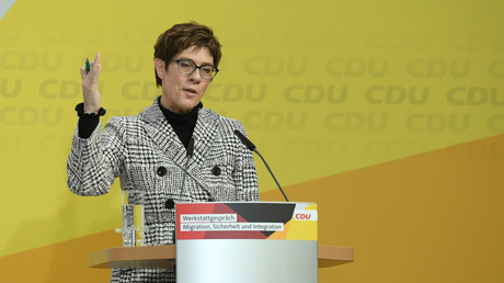 Annegret Kramp-Karrenbauer le 9 mars (image d'illustration).