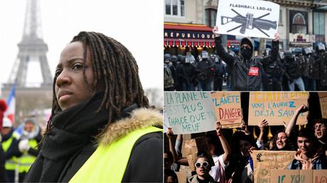 Gilets jaunes, défenseurs du climat et militants anti-violences policières vont défiler ensemble